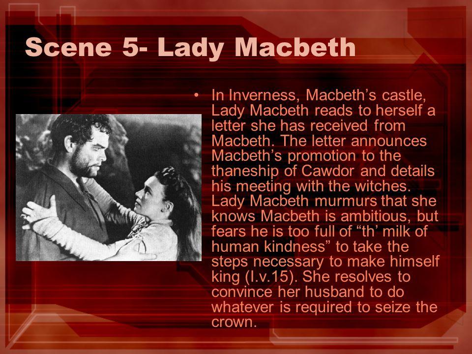 Scene 5- Lady Macbeth