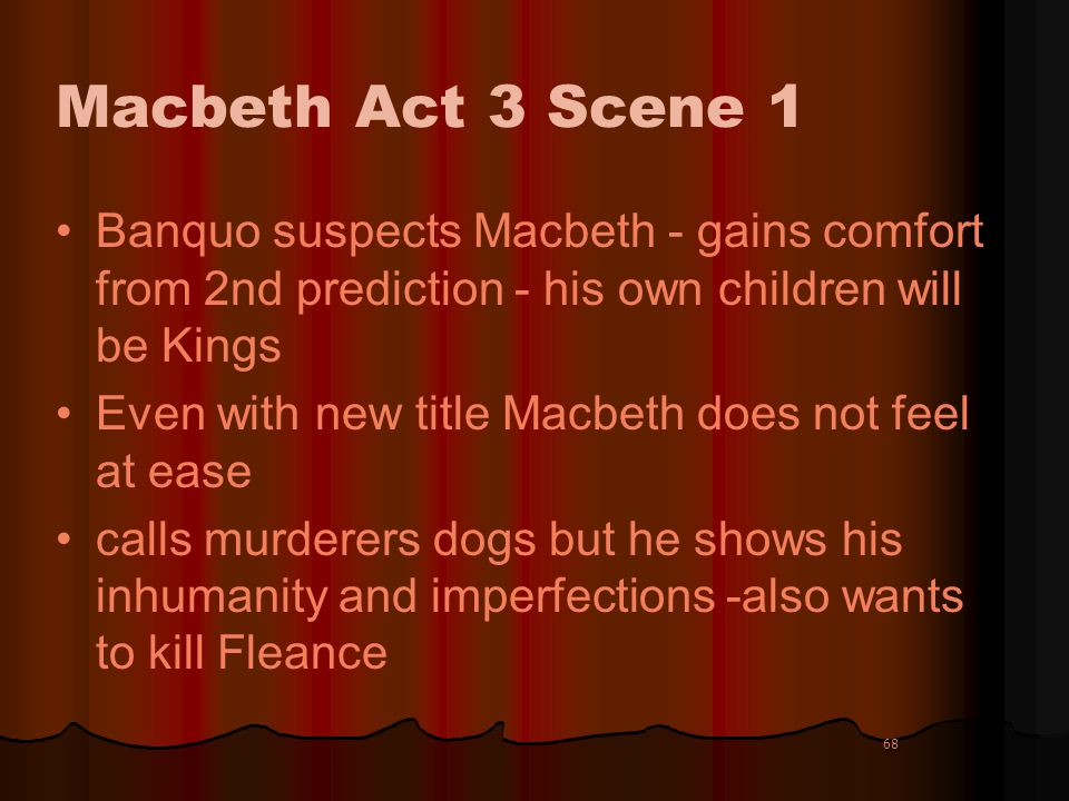 how does macbeth feel about his new prophecies from the witches The three witches lure macbeth macbeth goes back to see the witches again and he demands more prophecies of his future macbeth we still feel sympathy for his.