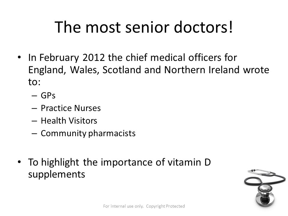 The most senior doctors!