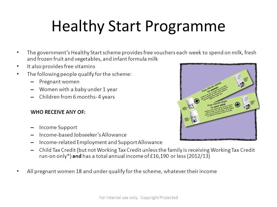 Healthy Start Programme