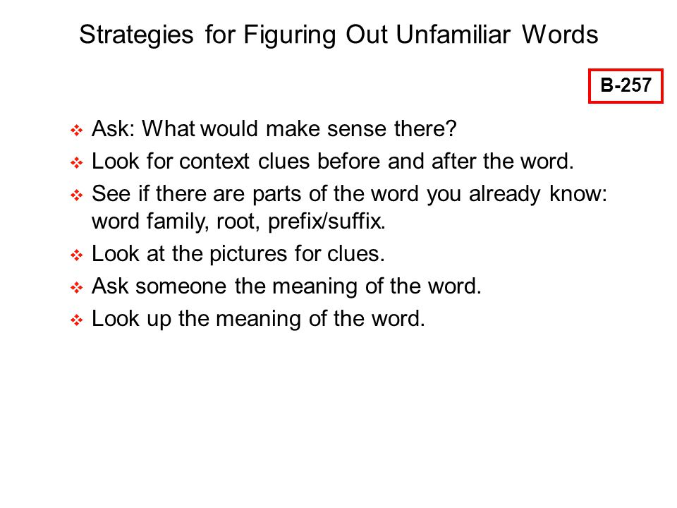 Solving Word Meanings: Engaging Strategies for Vocabulary ...