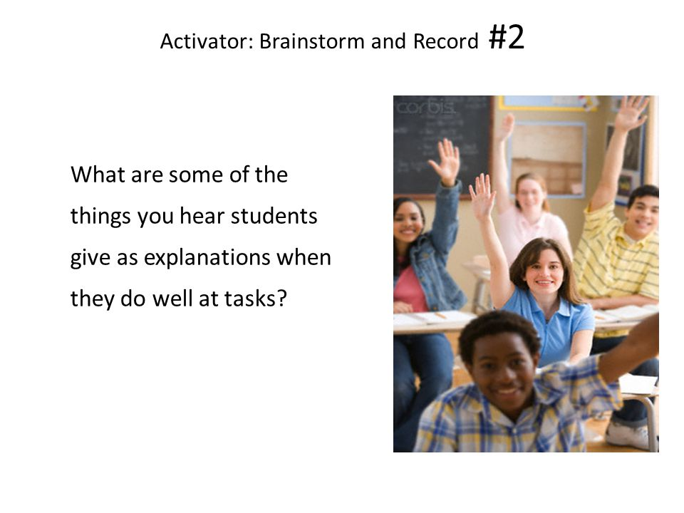 Activator: Brainstorm and Record #2