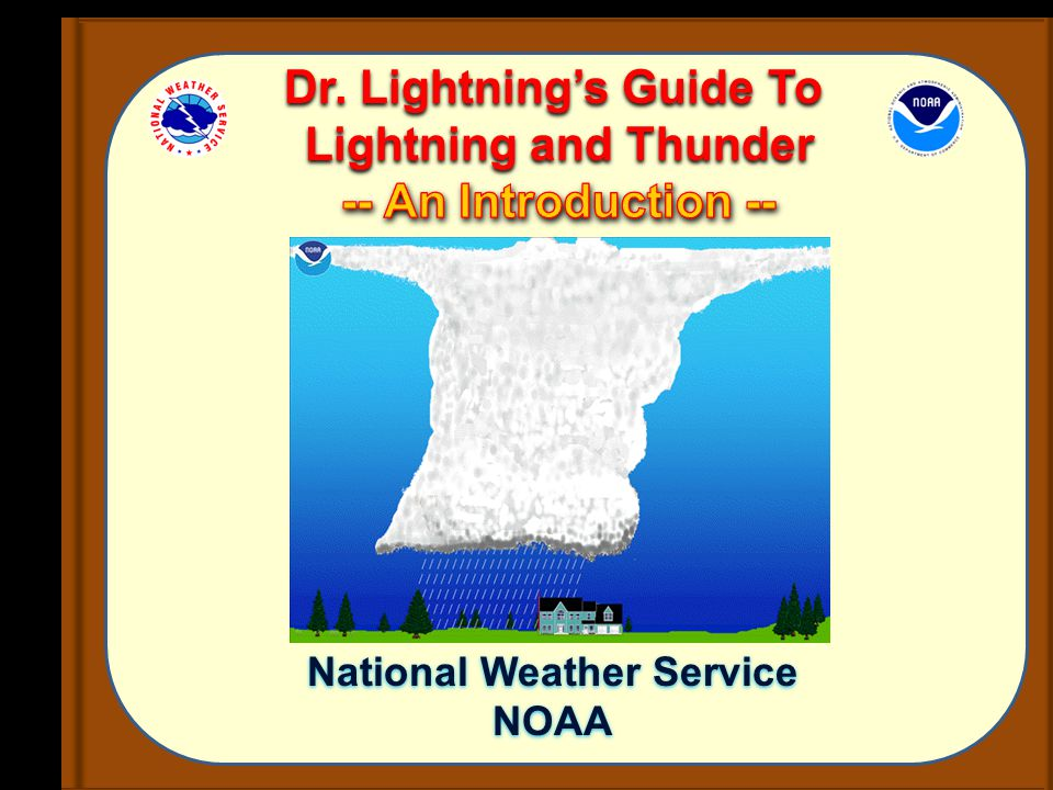 introduction of thunderstorms Overview: lightning safety there is no safe place outside when thunderstorms are in the area if you hear thunder, you are likely within striking distance of the storm.