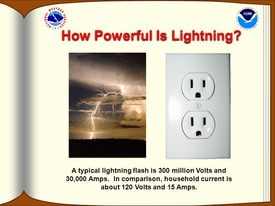 How Powerful Is Lightning