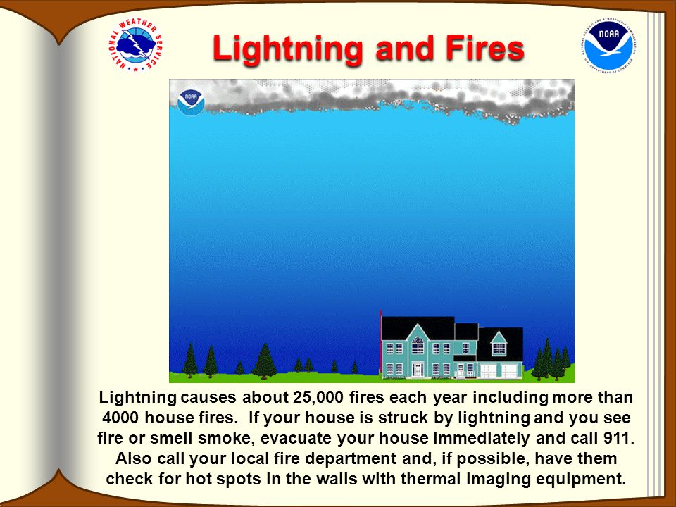 Lightning and Fires