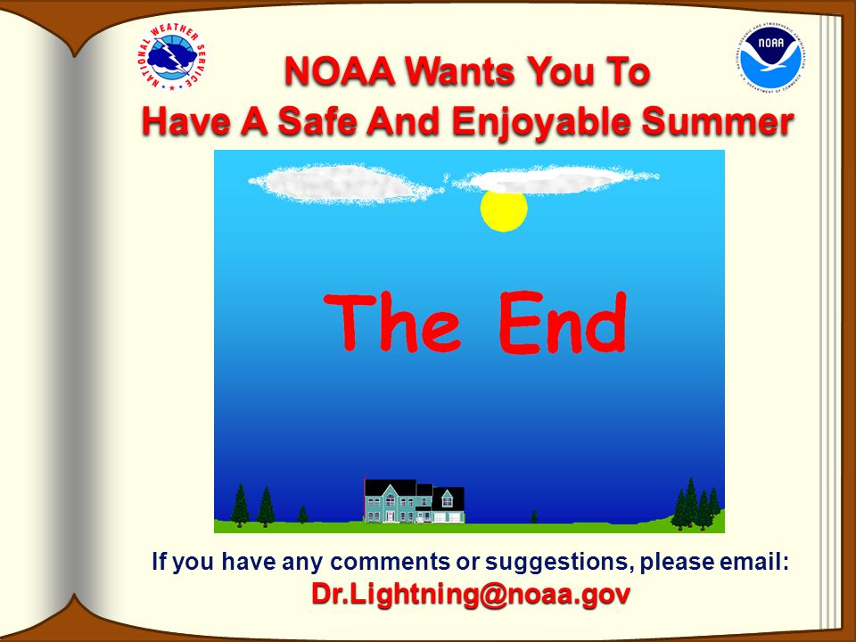 NOAA Wants You To Have A Safe And Enjoyable Summer