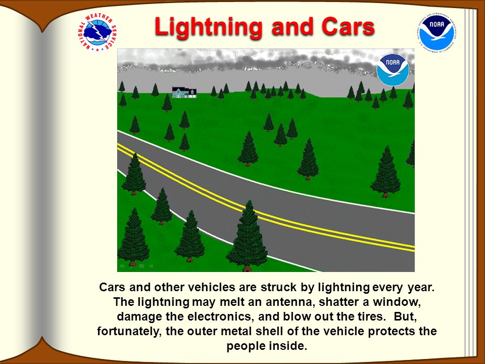 Lightning and Cars