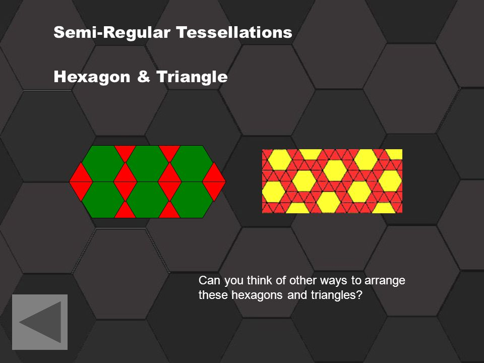Semi-Regular Tessellations