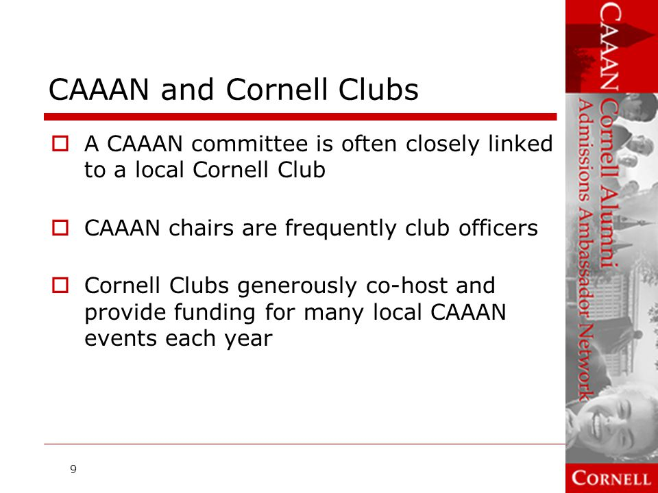 CAAAN and Cornell Clubs
