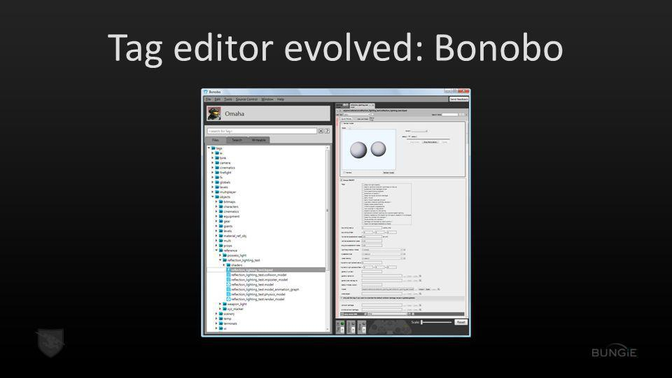 Tag editor evolved: Bonobo