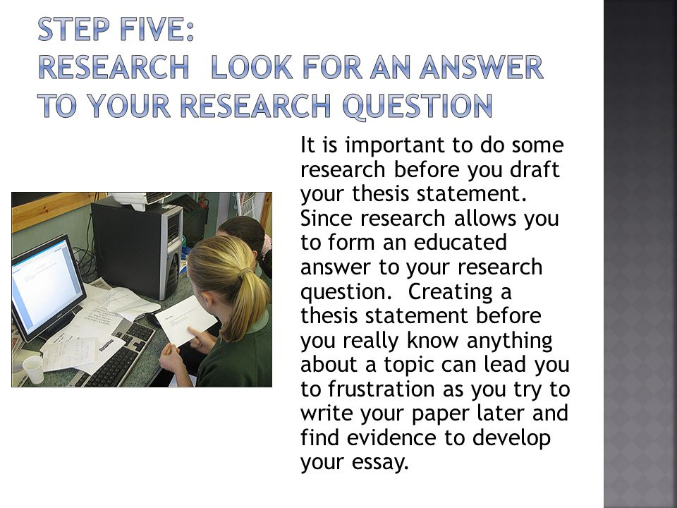 is a research question the same as a thesis statement 1 writing your thesis statement the considerations for academic research papers are very much the same as those for clinical case studies for.