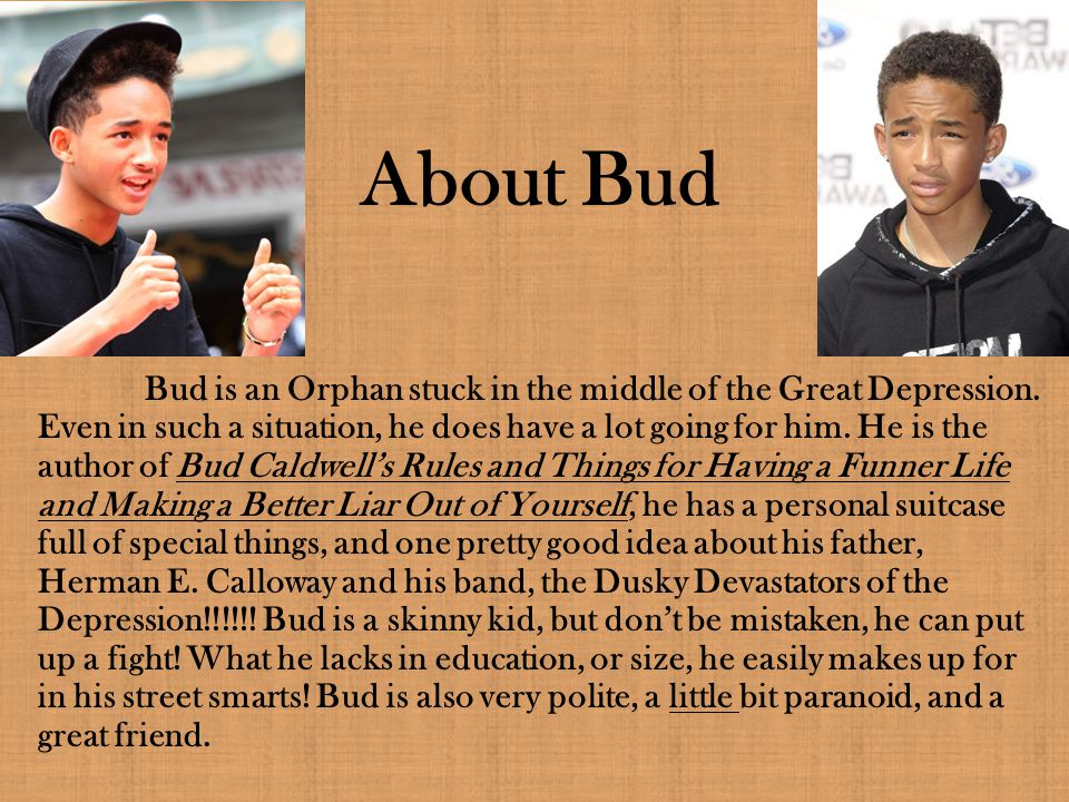 About Bud
