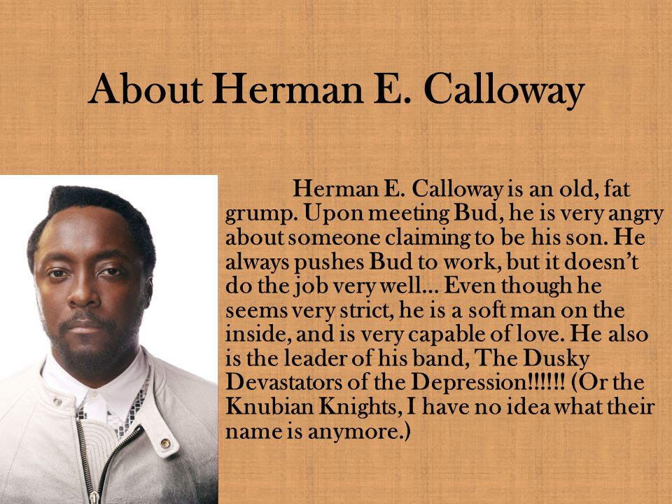 About Herman E. Calloway