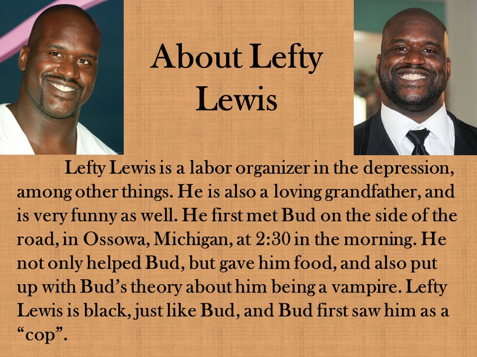 About Lefty Lewis