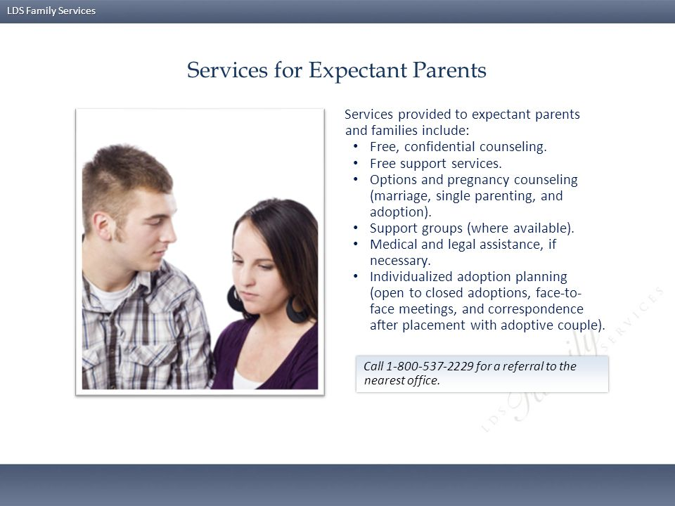 Services for Expectant Parents