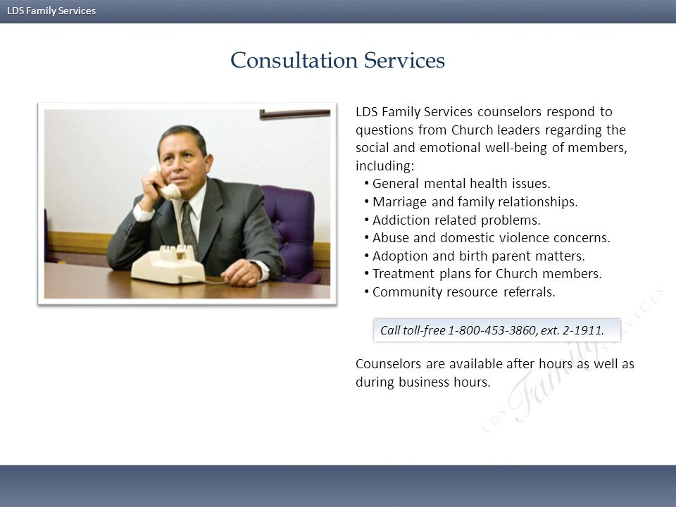 Consultation Services