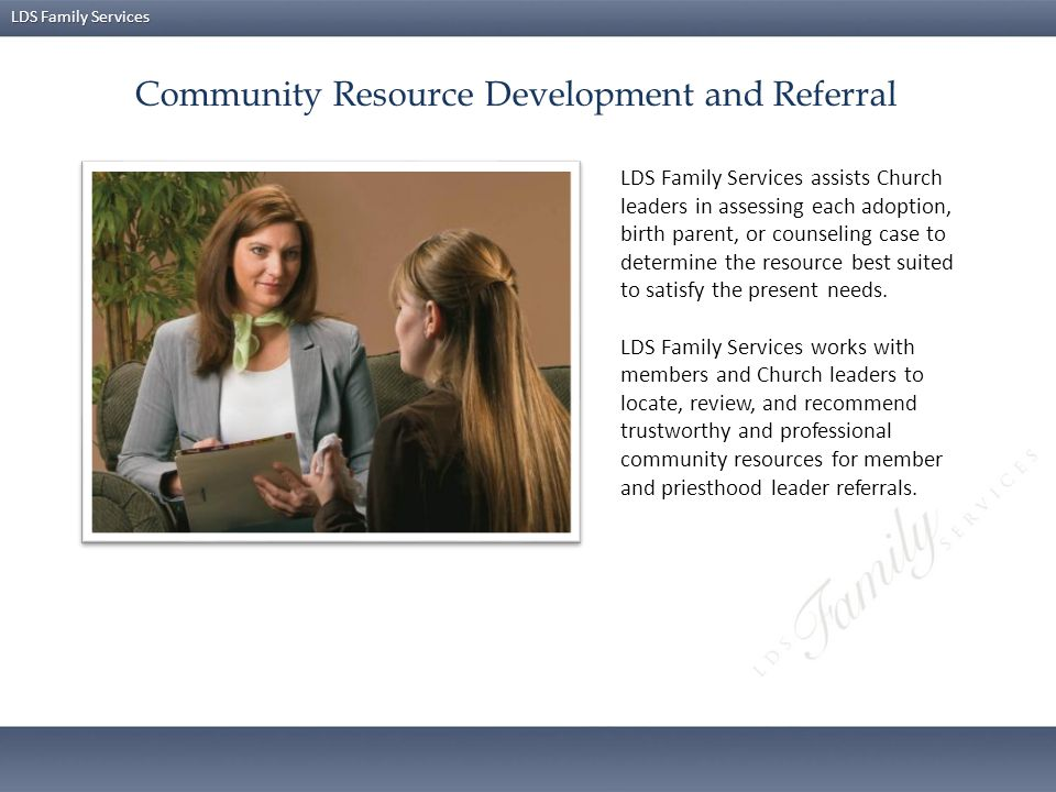 Community Resource Development and Referral