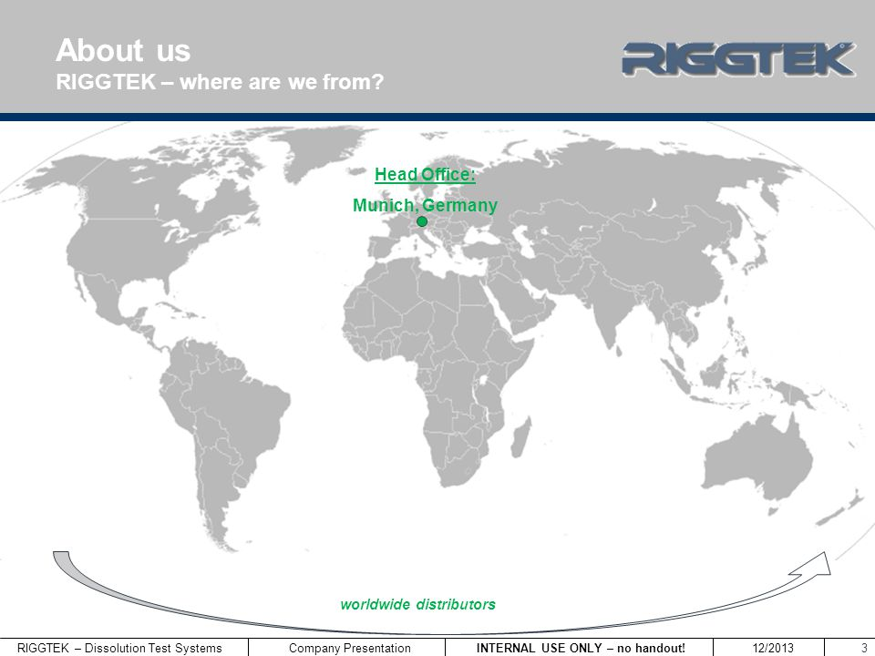 About us RIGGTEK – where are we from Head Office: Munich, Germany