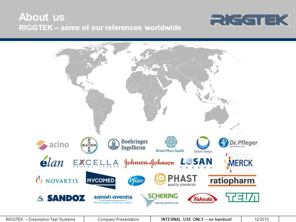 About us RIGGTEK – some of our references worldwide 9