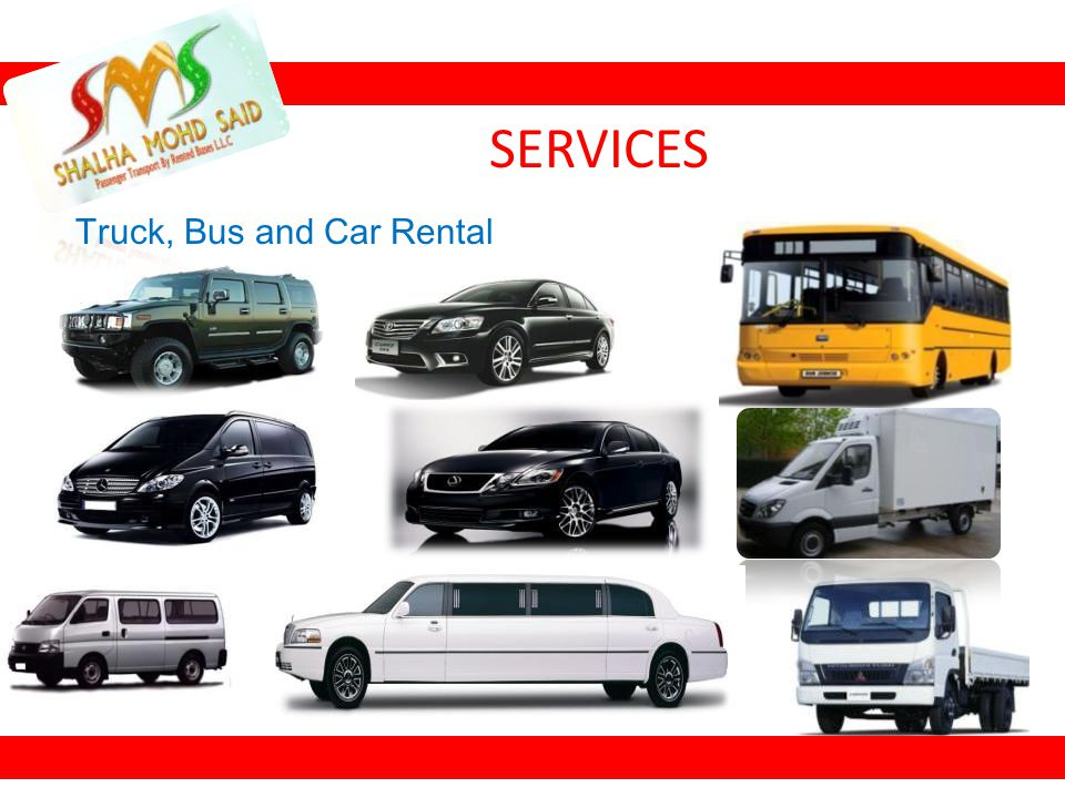 Truck, Bus and Car Rental