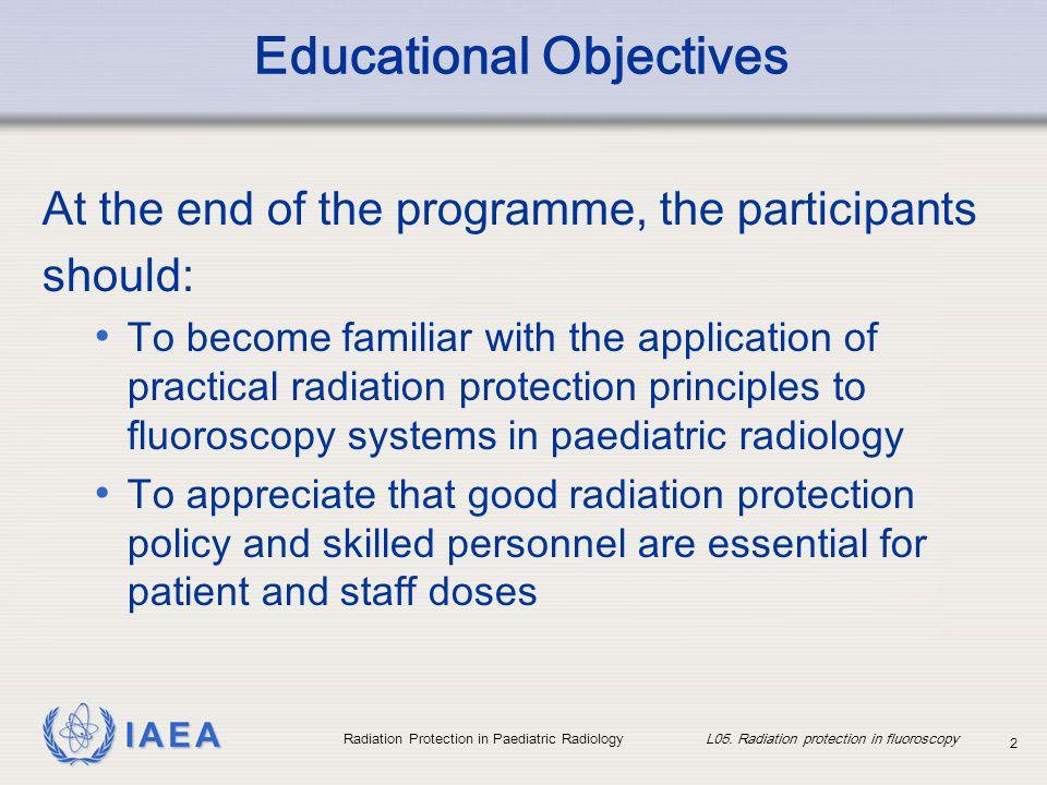 Educational Objectives