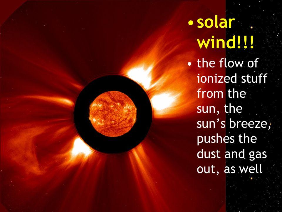 solar wind!!.