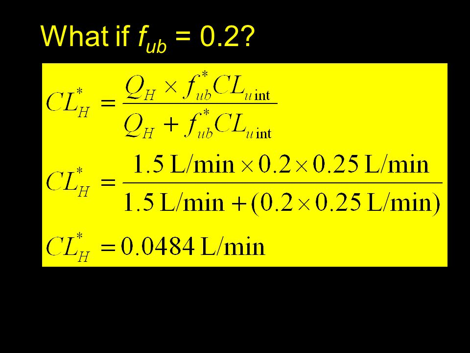 What if fub = 0.2