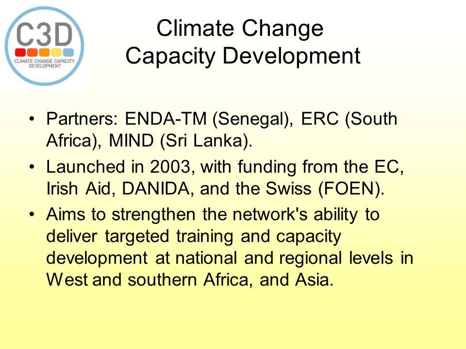 Climate Change Capacity Development