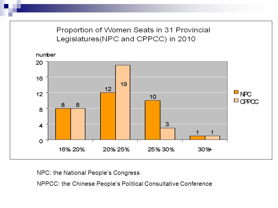 NPC: the National People's Congress