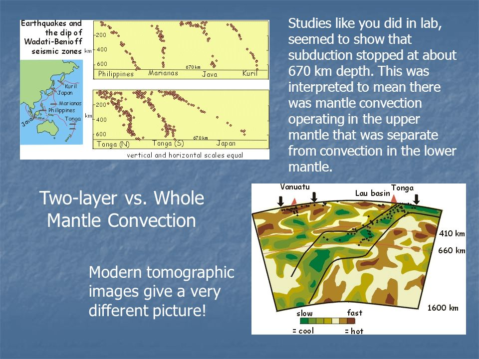 Two-layer vs. Whole Mantle Convection