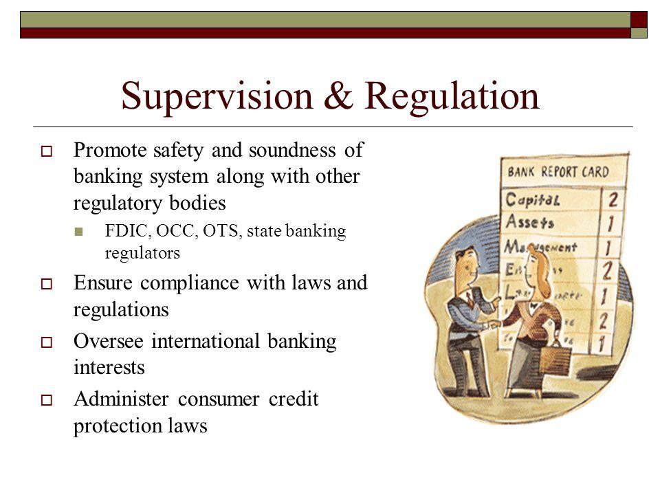 Supervision & Regulation