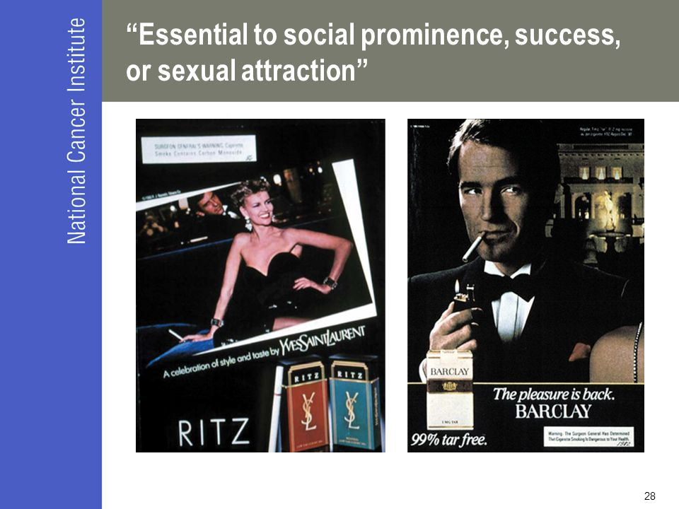 Essential to social prominence, success, or sexual attraction