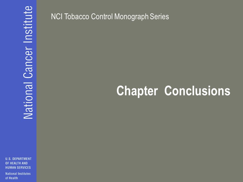 Chapter Conclusions