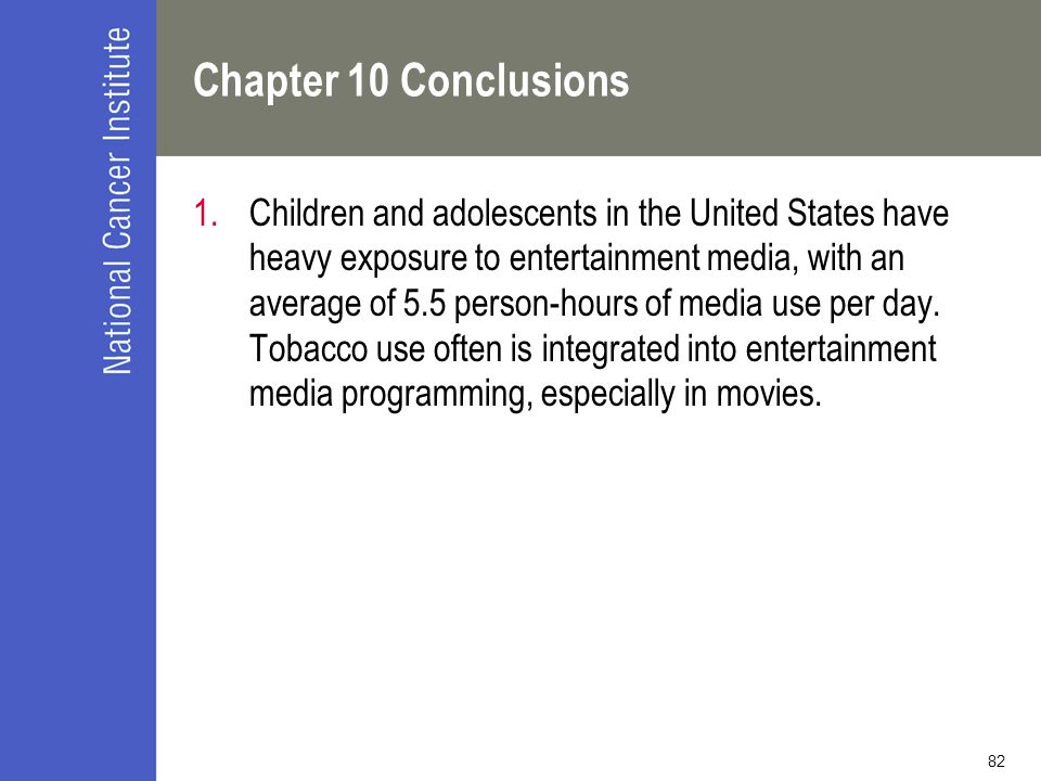 Chapter 10 Conclusions