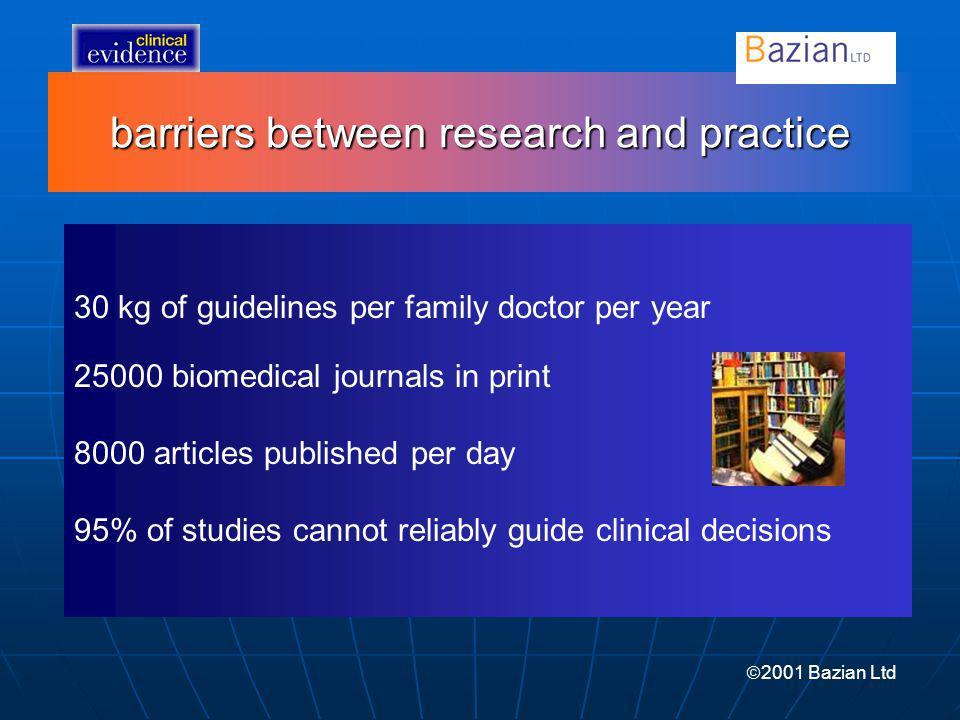 barriers between research and practice