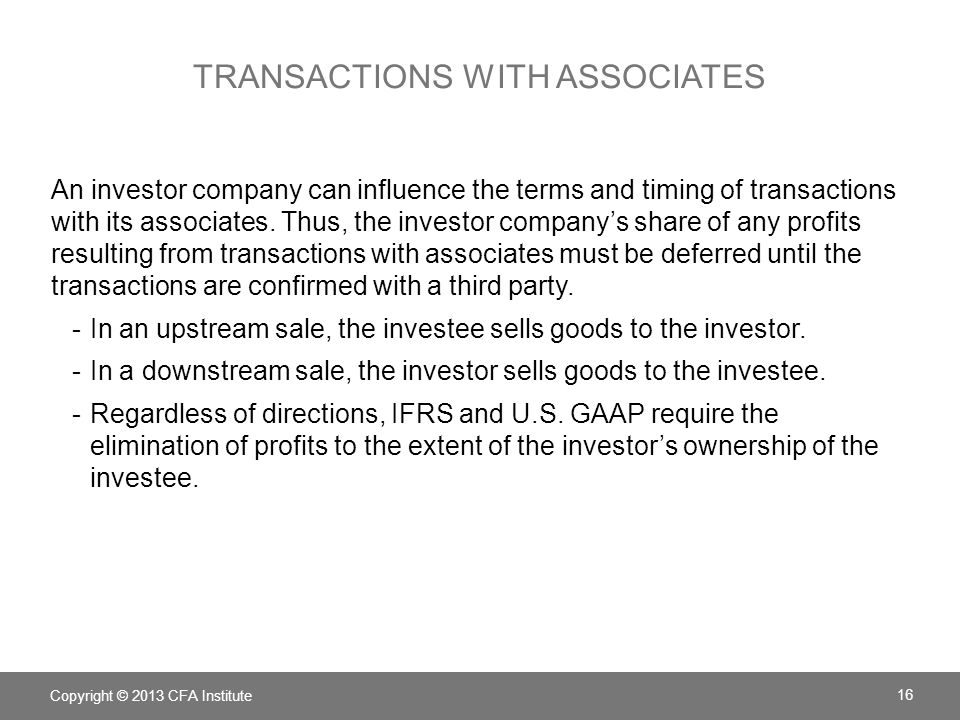 Transactions with associates