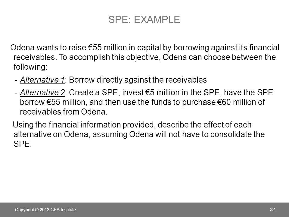 SPE: Example