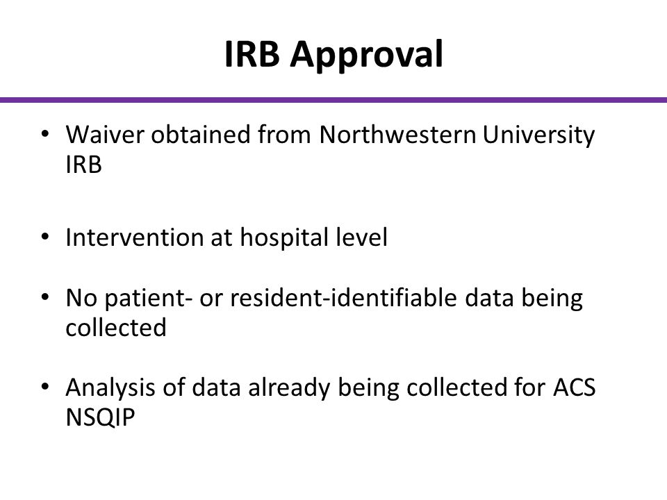 IRB Approval Waiver obtained from Northwestern University IRB