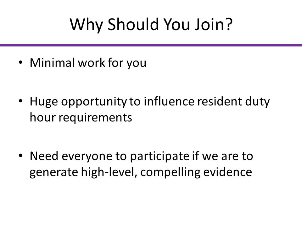Why Should You Join Minimal work for you
