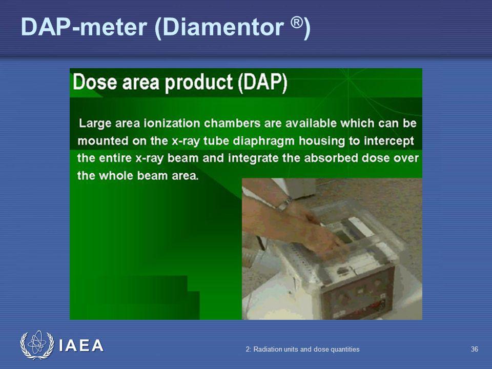 DAP-meter (Diamentor ®)