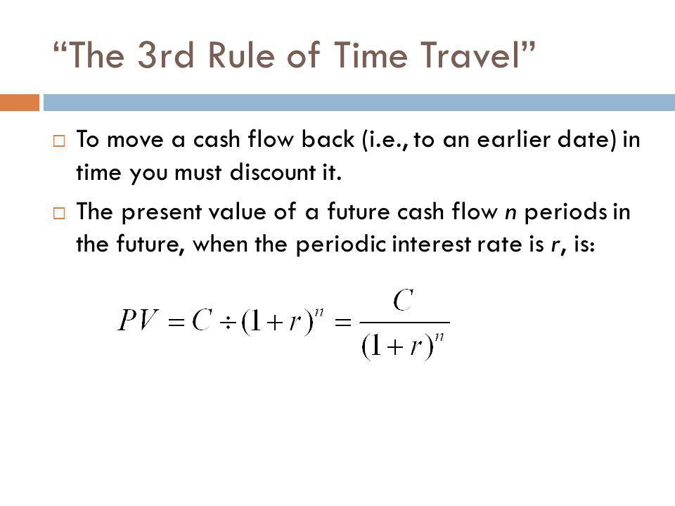 The 3rd Rule of Time Travel