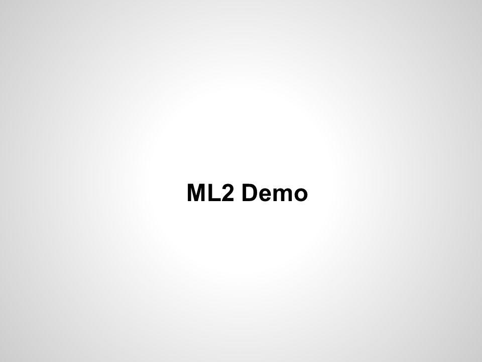 ML2 Demo