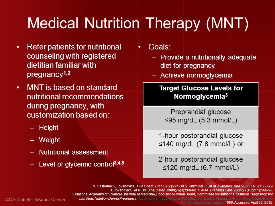 Medical Nutrition Therapy (MNT)