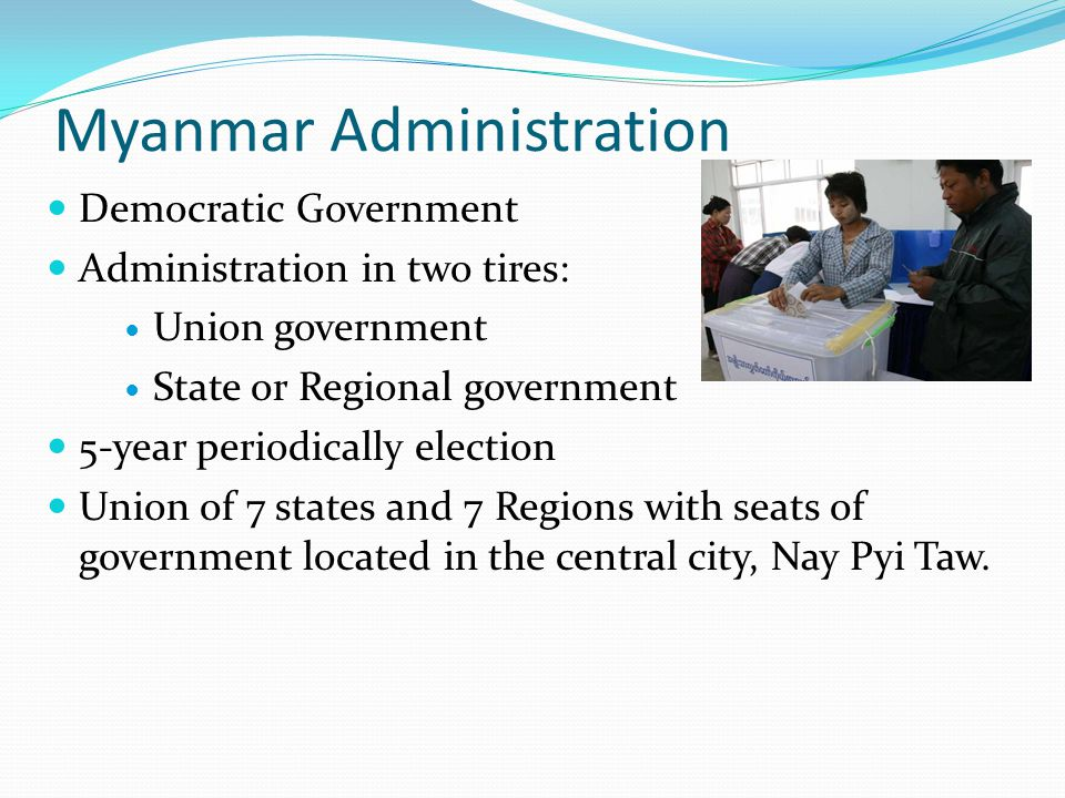 Myanmar Administration