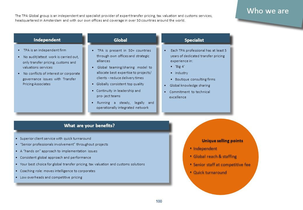 What are the 2012 trends and topics for transfer pricing