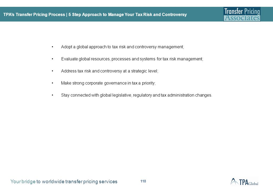 TPA's Transfer Pricing Process | Issues to Tackle Today