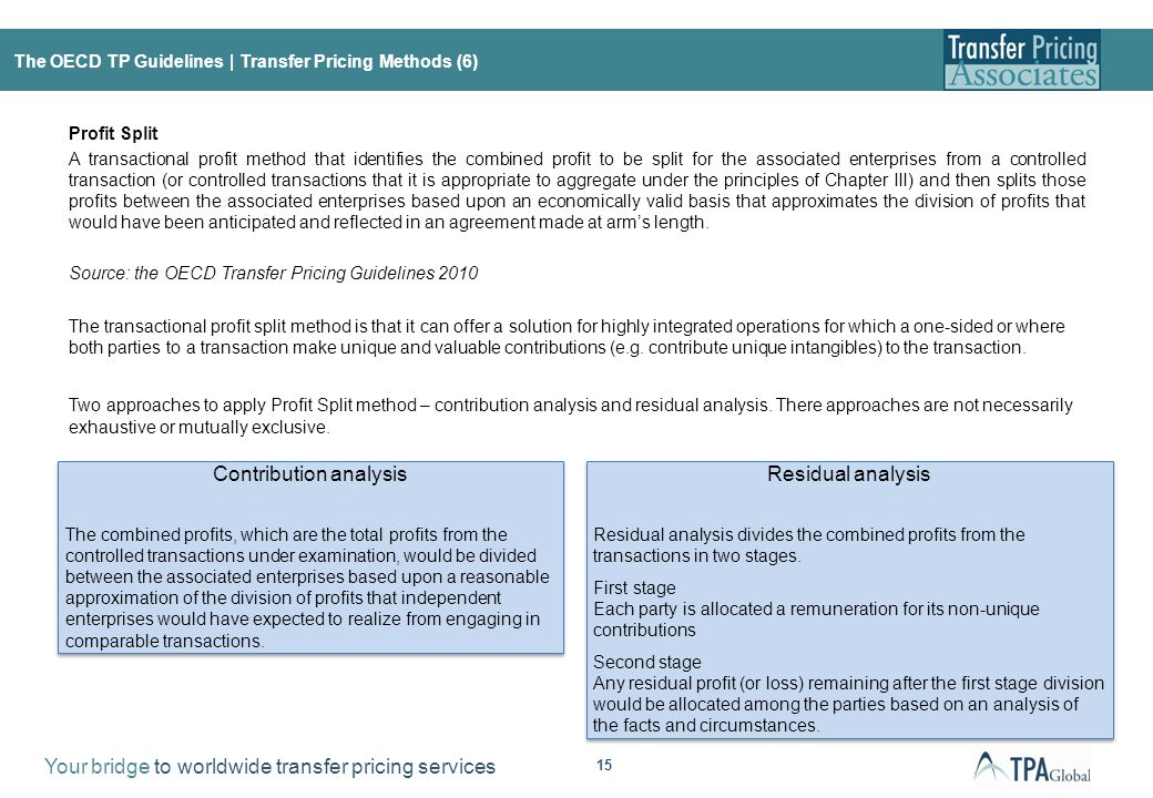 EU Joint Transfer Pricing Forum (EUJTPF)