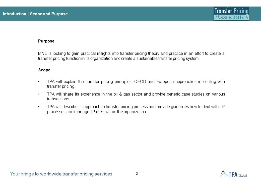 About this document all materials content and forms for Transfer pricing policy template