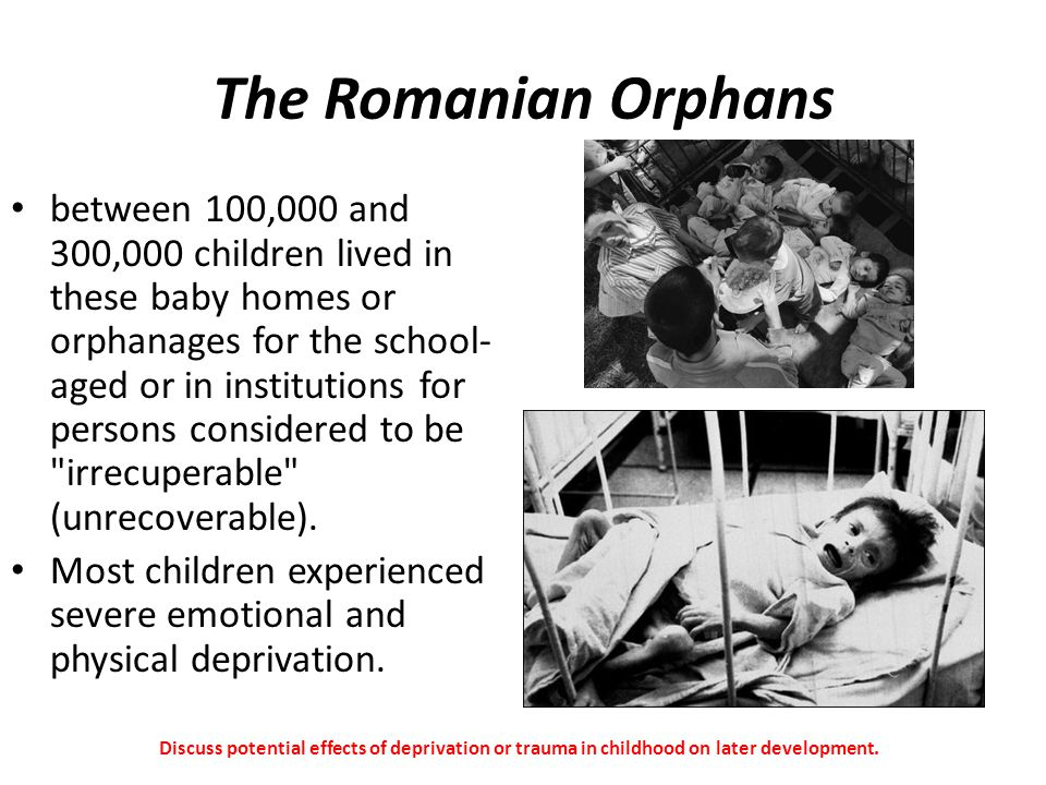 The Romanian Orphans