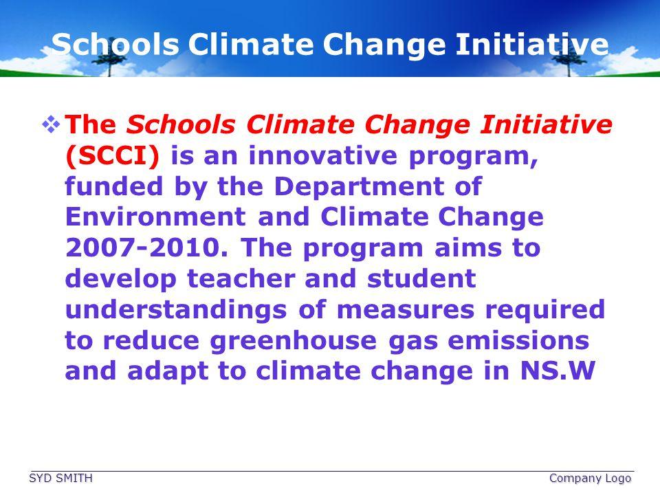 Schools Climate Change Initiative